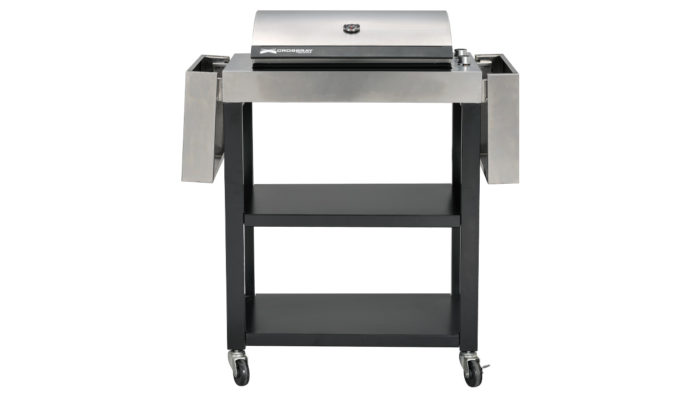 Electric BBQ Trolley Arms Down Front